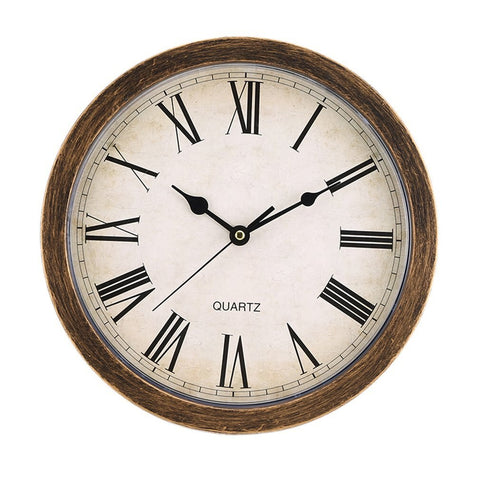 Vintage Wall Clock With Hidden Secret Safe Box - MASS Wholesalers