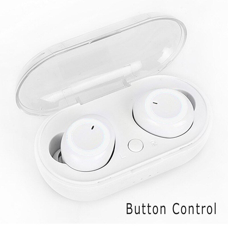 Y50 TWS Earbuds Bluetooth 5.0 Earphone Charging Box Wireless In-Ear Touch Control Stereo Sports Waterproof Earphones &Headphone - MASS Wholesalers