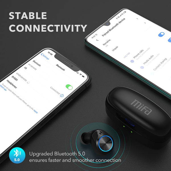Mifa X5 True Wireles Stereo Noise cancelling Bluetooth Earphone Wireless Earbuds - MASS Wholesalers