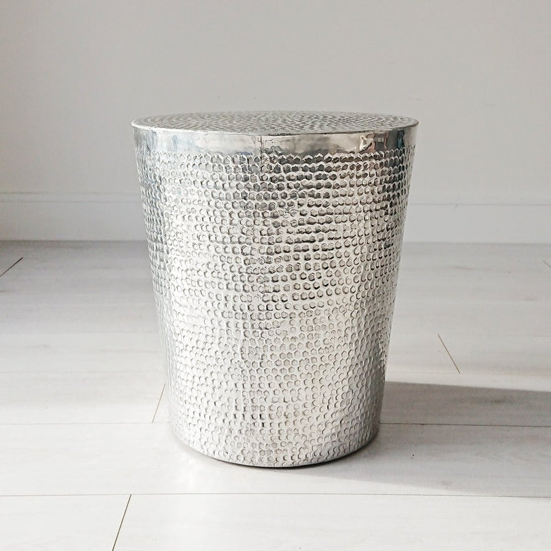 Tambur Metal Side Table from Souk Collective
