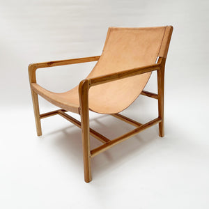 Stacy Armchair Natural + Blush