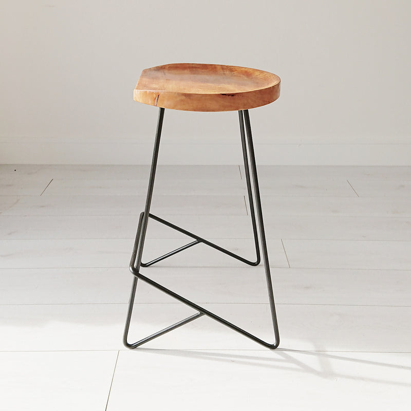 Neeto Rustic Stool from Souk Collective