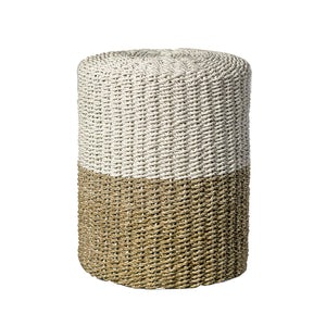 Seagrass Stool from Souk Collective