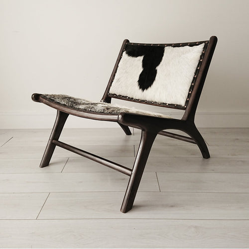 Marlborough Lounge Chair Black + Black