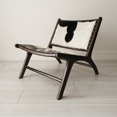 Stacy Armchair Black + Black