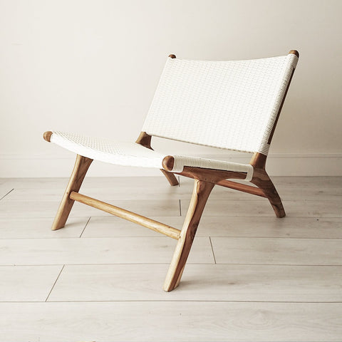 Stacy Armchair Natural + Black