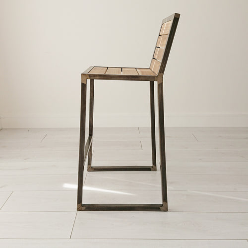 Tribeca Industrial Stool from Souk Collective