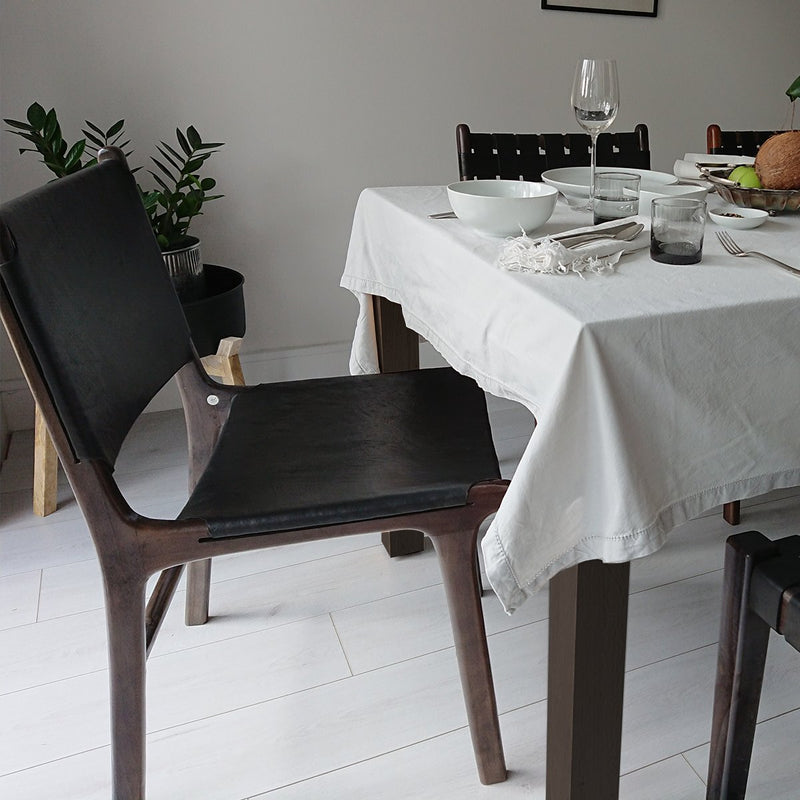 London Dining Chair Black + Black