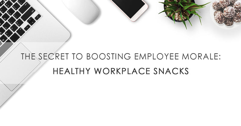 The Secret to Boosting Employee Morale in the Office: Healthy Workplace Snacks