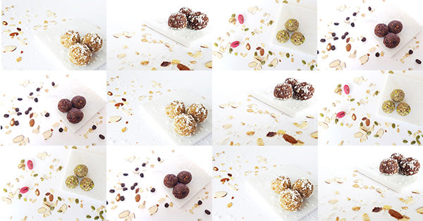 energy ball flavours. protein ball flavours. healthy snacks. healthy breakfast. healthy snacks for meetings. corporate catering.