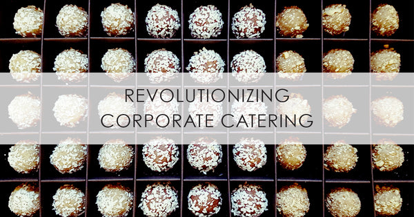 Healthy Energy Ball Snacks for Corporate Catering in Toronto