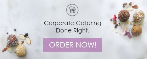 Corporate Catering Toronto. Healthy Vegan Gluten Free Options. Energy Balls.