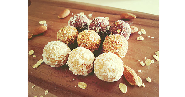 Coconut energy balls. Protein Energy Balls. Healthy snacks for corporate catering