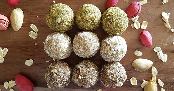 Protein energy balls. Vegan and gluten free energy balls in Toronto.