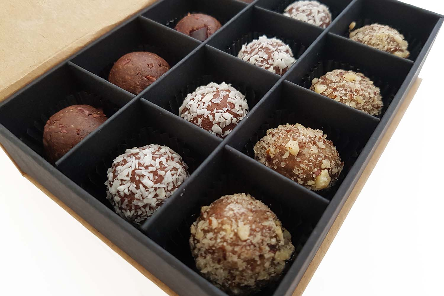 healthy treat unique gift idea energy balls