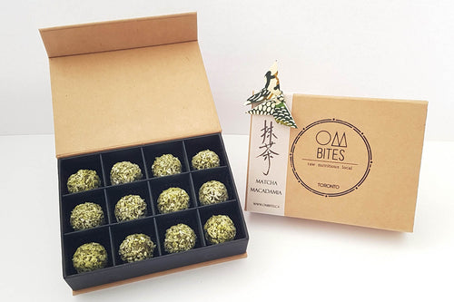 Matcha Macadamia - Limited Edition (12 pieces)