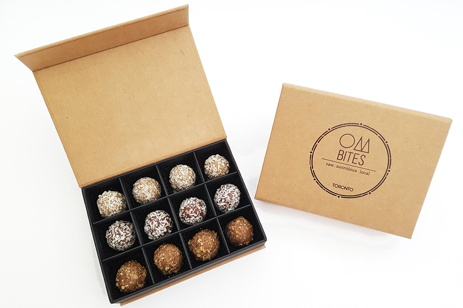 healthy treat unique gift idea energy balls Corporate gift to employees or clients