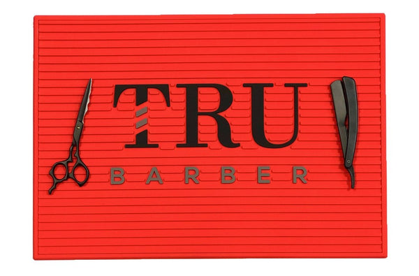 Barber Mat- Red