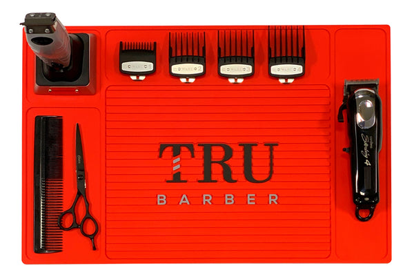 Barber Mat- Organizer Red
