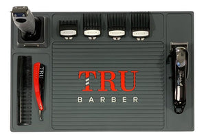Barber Mat- Organizer Charcoal Grey