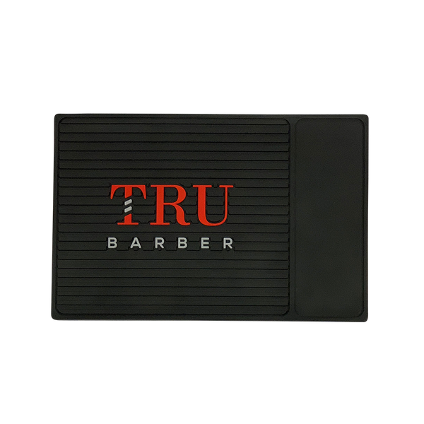 Barber Mat- Organizer Small Black/Red