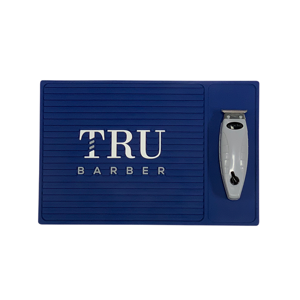 Barber Mat- Organizer Small Blue