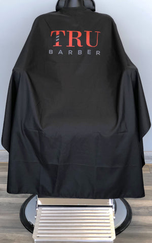 TruBarber Cape- Red Logo