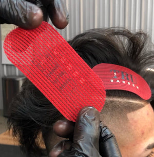 TruBarber Hair Grippers- Red