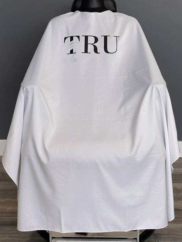 TruBarber Cape- White