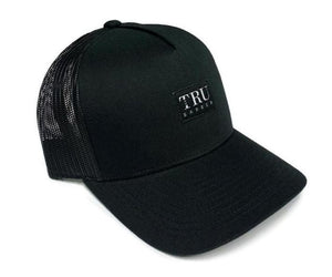 TruBarber Trucker Hat- Black