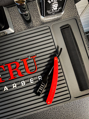 TRUBARBER Razor- Black/Red