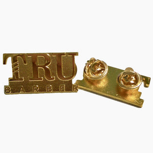TRUBARBER PIN GOLD