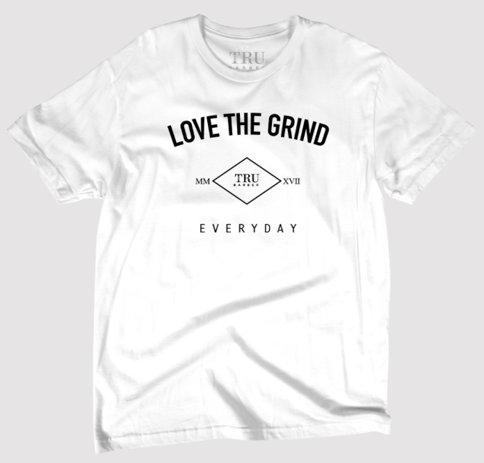 Love The Grind - White