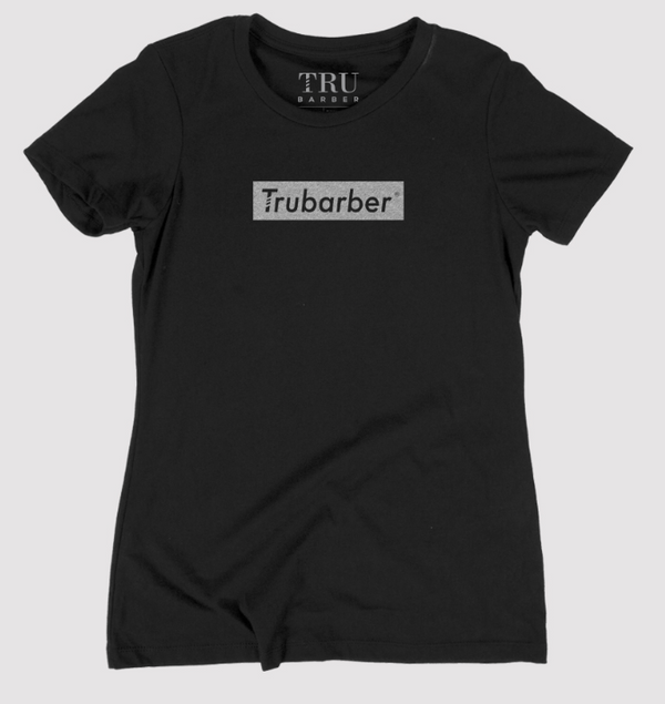 Women's TruBarber Trademark - Black