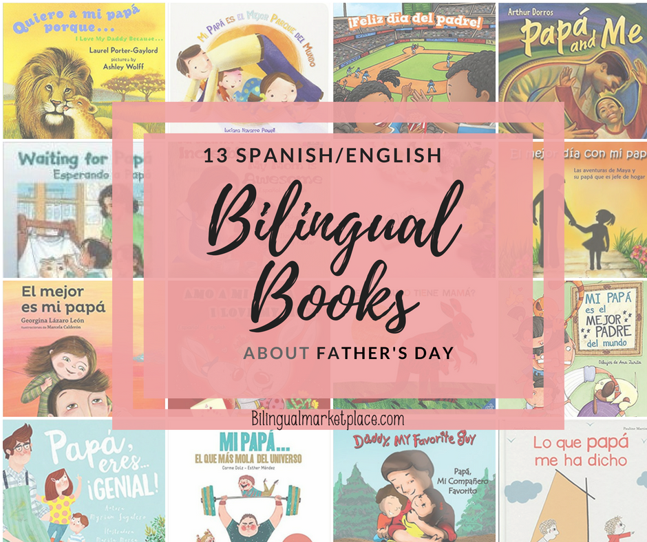 Bilingual Books about Father's Day