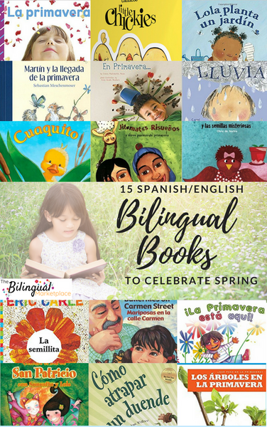 15 Bilingual Books About Spring