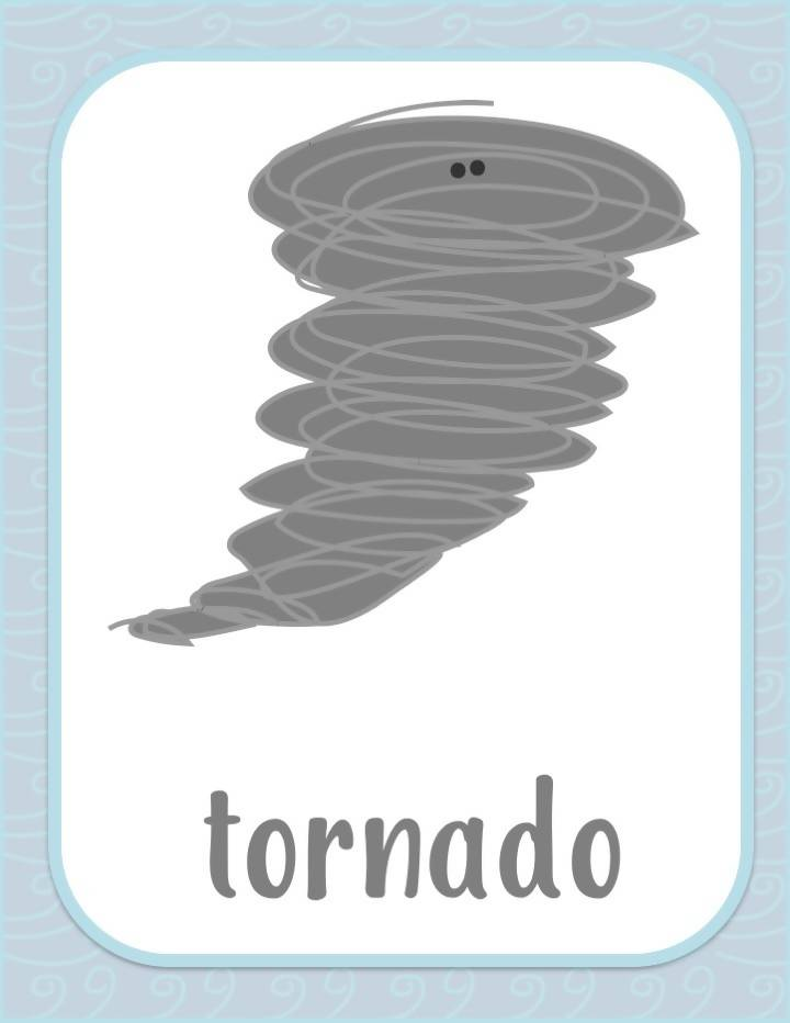 Spanish Weather Flashcards - El Clima Flashcards