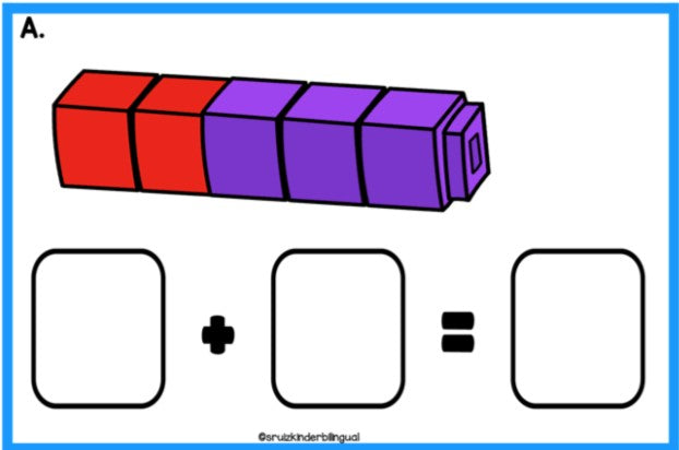 MATH TASK CARDS Kindergarten