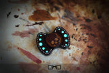 Gorgeous Leather Skull EDC Fidget Hand Spinner For Autism and ADHD Anti Stress  Bi-spinner - CUEBALL JONES
