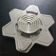 Luminous Star of David Titanium alloy metal EDC ceramic bearing Fidget Hand Spinner  Rotary Spinner - CUEBALL JONES