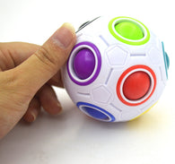 Strange-shape Magic Fidget Anti Stress Rainbow Ball Toy  Fidget Cube - CUEBALL JONES
