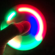 Plastic EDC LED Light Fidget Hand Finger Spinner For Autism And ADHD Relief  Tri-spinner - CUEBALL JONES