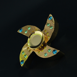 Diamond Hand Spinner fidget  toy New fidget spinner edc finger Spinner Hand relieves stress  Tri-spinner - CUEBALL JONES