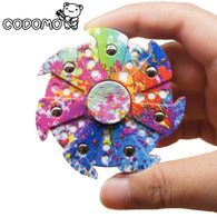 New Creative EDC Powerful Camouflage Fidget Spinner Relieves Stress for Adults  Tri-spinner - CUEBALL JONES