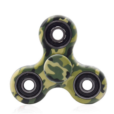 Plastic EDC Sensory Hand Fidget Spinners For Autism and ADHD Kids/Adult  Tri-spinner - CUEBALL JONES