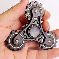 New Metal Four Gears Linkage Fidget Hand Spinner For Autism And ADHD Anti Stress  Tri-spinner - CUEBALL JONES
