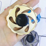 Fidget Spinner Aluminum alloy Wheel Shape Hand Spinner Custom Bearing Gift for Children and Adult  Rotary Spinner - CUEBALL JONES
