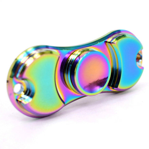 Colorful Funny EDC Metal Fidget Spinner and ADHD Adults Children Educational Toys  Torque Spinner - CUEBALL JONES