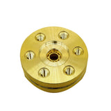 Luminous DIY Brass Gatlin EDC Fidget Hand Spinner Collection  Rotary Spinner - CUEBALL JONES
