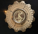 Retro Brass Pirate Compass EDC Fidget Hand  Spinner For Autism and ADHD Killing Time anti stress  Rotary Spinner - CUEBALL JONES